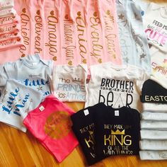 A few things heading out in the mail today! #afterChristmasorders #babygirl #babyboy