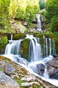Giessbach Falls Switzerland