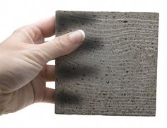 A Hungarian architect invented these translucent concrete tiles that contain optical fibers, allowing light to pass through. They are now sold through his company Litracon Bt.
