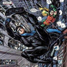 Nightwing & Robin - Ivan Reis & Carlo Berberi / Ink by Marc Campos & Norm Rapmund