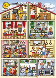 My Kindergarten ~ by Barevne Kaminky School Days, Nasa, Kindergarten, Images, Education, Google Search, Kids, Vocabulary, Young Children