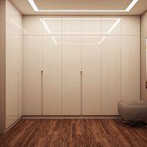 3d визуализация гардеробной комнаты