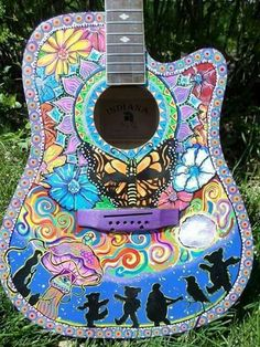Hand painted grateful dead guitar                                                                                                                                                                                 More