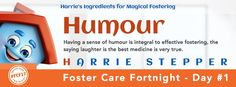 Wondering where Harrie Stepper's name comes from? Everyday through foster care fortnight Harrie will be tweeting a word associated with each letter of his name. H stands for Humour. Having a sense of humour is integral to effective fostering, the saying laughter is the best medicine is... #FCF17