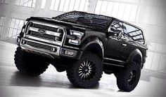 2015 Ford Bronco concept.