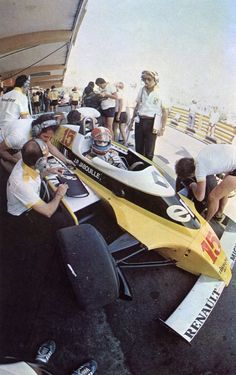 1980 Kyalami Elf Renault RE23 Jean-Pierre Jabouille