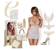 Crispy-skinned pleasure! by lussuria on Polyvore featuring moda, Yves Saint Laurent, Lollia, Sunbrella and Casadei