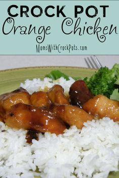 Amazingly easy and yummy #CrockPot Orange Chicken #Recipe