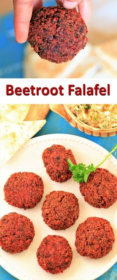My today's recipe is the ideal and healthy party appetizers and takes hardly any time. Falafel is familiar to many of us. Falafel is Meditarrian dish which made by using chickpeas and some spices. I have already shared regular Falafel recipe. I tweaked this recipe and added Beetroot. Yes Beetroot. You're probably wondering Why beetroot? Well, beetroot makes the Falafel juicer and prettier. Beetroot Falafel is very exotic dish.