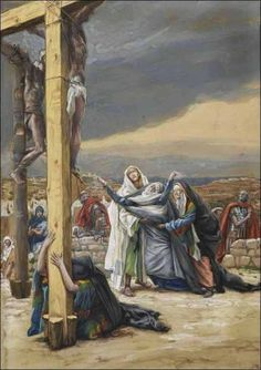 """When Jesus therefore saw his mother, and the disciple standing by, whom he loved, he said unto his mother,  'Woman, behold your son!'"" (John 19:26).Third of Seven Last Words Of Christ On The Cross"