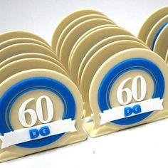 Porta guardanapo personalizado - festa de 60 anos do Danilo