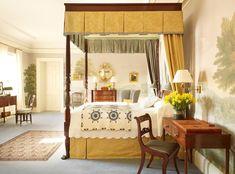 Traditional interior design Thomas Jayne Drumlin Hall master bedroom