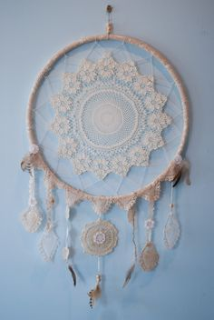 before it fades (vicesandvirtues: Dream catcher I made out of...)