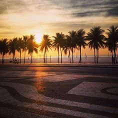 Copacabana in Rio de Janeiro, RJ