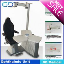 CE approved HIGH QUALITY ophthalmic unit/ophthalmic refraction chair unit GOU-01