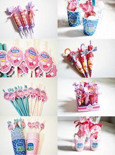 Cumpleaños Peppa Pig #partygirl #cumpleaños #partytheme #peppapig #pink #blue #partysupplies #insumos #kit #candybar
