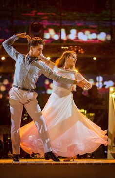 Mollie King and AJ Pritchard danced the Viennese Waltz to Anyone Who Had A Heart by Cilla Black Strictly Come Dancing 2017, Strictly Dancers, Brian Conley, Cilla Black, Mollie King, Dance Dresses, Latin Dresses, Week 5, Tv On The Radio