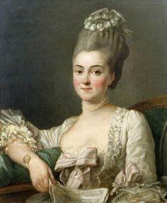Portrait of a Lady by Jean François Colson, 1766