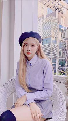 I like her look Rose Photos, Blackpink Photos, Rose And Rosie, First Date Outfits, Mode Kpop, Rose Icon, Black Pink Kpop, Black Pink Rose, Rose Wallpaper