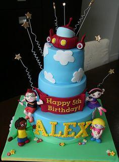 The Little Einsteins Birthday cake  wonder if I can pull it off?