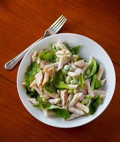 Pasta Salad with Chicken and Garden Greens