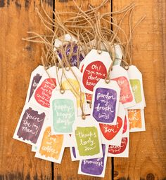 Gift Tags full set