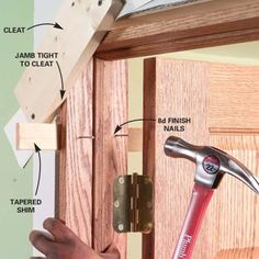 to Replace an Interior Door: Prehung Door Replacement How to hang a door correctly. We have some inside doors to fix.How to hang a door correctly. We have some inside doors to fix.