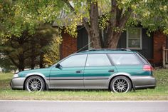 Lowering my 97 Outback Wagon - Subaru Outback - Subaru Outback Forums Subaru Legacy Wagon, Subaru Wagon, Subaru Legacy Gt, Weird Cars, Cool Cars, Legacy Outback, Winter Car, Subaru Outback, Car Tuning