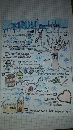 Pracovní listy MŠ Plus Size a. plus size shorts Winter Activities For Kids, Nature Activities, Winter Crafts For Kids, Christmas Activities, Preschool Activities, Games For Kids, Sudoku, School Clubs, School Psychology