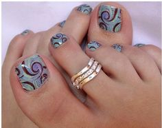 DIY nail ideas toes