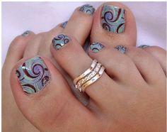 DIY nail ideas toes