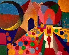 Divina Pastora | Acryl on Panel | 2016 | Adelso Bausdorf