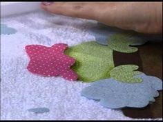 Mulher.com 31/12/2012 Priscila Muller - Pacth Apliquê com pintura 1/2