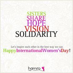 Happy International Women's Day!