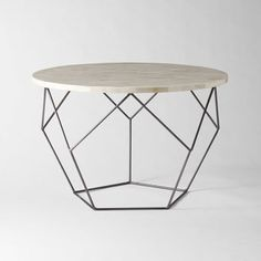 Future-ish: Fab Facets | West Elm's Origami Cocktail Table