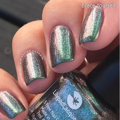 Lilypad Lacquer Brace Yourself, from the This Life Collection. Released Fall/Winter 2015 (pinned from Almost Famous Nails)