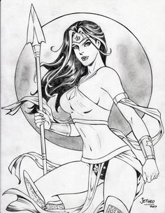 Wonder Woman (#48) by Rodel Martin (Jethro) by VMIFerrari.deviantart.com on @DeviantArt