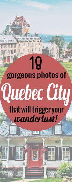 Découvrir Québec en photos // Discover Québec with pictures  #wanderlust