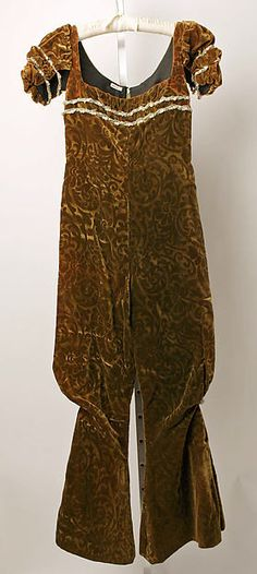 Evening jumpsuit Designer: Serendipity 3 (American, opened 1954) Date: 1965 Culture: American Medium: nylon, silk Dimensions: [no dimensions available] Credit Line: Gift of Serendipity 3, Inc., 1978