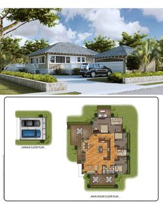 Spacious floor plans make these beautiful plantation style homes like a dream. Be a part or our village and own a piece of the island. New homes for sale on the North Shore Oahu. Visit KahukuVillage.com for more information. North Shore, Kahuku, Oahu, Hawaii