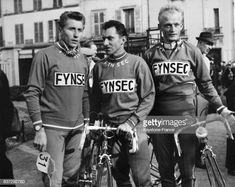 Paris Nice 1961 Jacques Anquetil Jean Stablinski et Jean Graczyk 1961 Getty Images Paris Nice, Velo Vintage, Bike Poster, Bicycle Race, France, Sports, Racing, Posters, Image