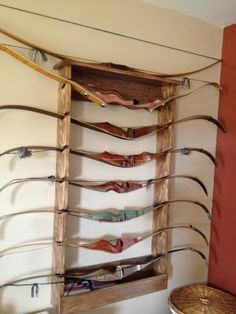 traditional bow rack - Google Search