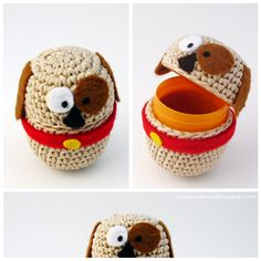 - Airali handmade: amigurumi, crochet and knitted accessories. Easter Crochet, Cute Crochet, Crochet For Kids, Amigurumi Patterns, Crochet Patterns, Plastic Easter Eggs, Clothes Crafts, Crochet Videos, Crochet Home