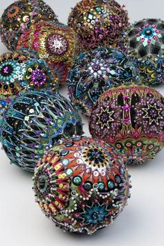 Opulent Ornaments - We All Sew