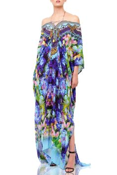 Latest just in and just arrived dresses at Shahida Parides online store. Women's Designer dresses just landed 2020 kaftan dresses · maxi dresses · wrap dresses · silk dresses · designer tops Short Kaftan Dress, Caftan Dress, Silk Kaftan, Dress Long, Hi Low Dresses, Blue Dresses, Short Dresses, Silk Romper, Fancy Gowns