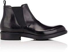 f724a6e7c9e Prada Men s Leather Chelsea Boots