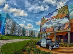 Disney's Art of Animation Resort, Cars wing....next on the list...for the girls!