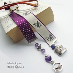Tweet birdcage ribbon bookmark by Made 4 your Books - Folksy