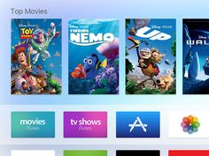Apple tvOS UI Kit