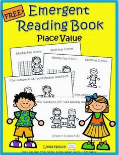 Math and literacy come together in this free emergent reader for practicing place value representations with longs and cubes. Patterned text, high frequency words, and strong text/picture match will make this a great resource for your lower level readers.  http://primaryinspiration.blogspot.com/2014/01/free-emergent-math-reader.html